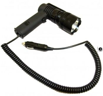 Clulite PL400 Pistol Light LED Torch Lamping Kit 400 Metre - Light & 12v Cable